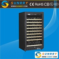 Commercial new design thermoelectric wine cooler cabinet and wine bottle cooler