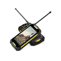 Snopow M8 IP68 4G-LTE full networks android 5.1 OTG NFC RFID wireless charge with walkie talkie t-mobile rugged flip phone