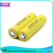 Highest Rated Deep Cycle Big Battery Mod E-Cigarette, LG HE4 18650 Li ion Battery 3.7v 2500mah