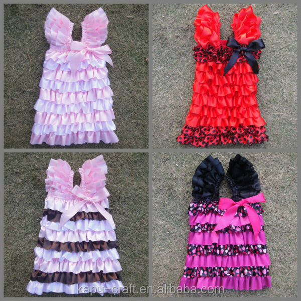 Hot sale china factory custom petti princess dress for girl princess flower dresses Smocked dress toddler