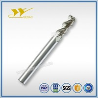 3 Flute with Long Shank Length cnc milling for Aluminum Milling