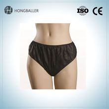 Young Lady Disposable Nonwoven Unisex Briefs Underwear