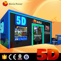 easy to move 5d mobile theater in cabin a new way to make money