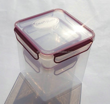 100% airtight and waterproof plastic food container