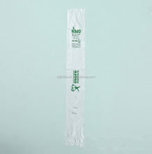 Wholesale best price biodegradable disposable transparent umbrella plastic sleeves