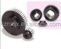 Tooth grinding metal spur gear