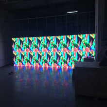 1R1G1B SMD2525 indoor exhibition stage transparent LED electronic display screen for rental