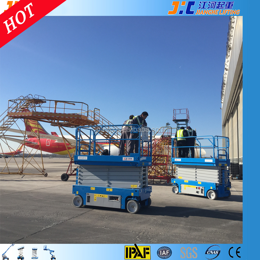 12M Self-Propelled Scissor Lift Aerial Elevating Work Platform