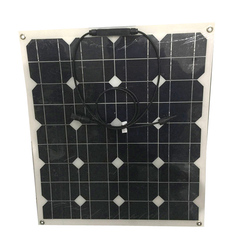 mono pv flexible solar panel 10w 20 w 30wp 40 Wp 50watt 60 w 70 watt panel solar 12v