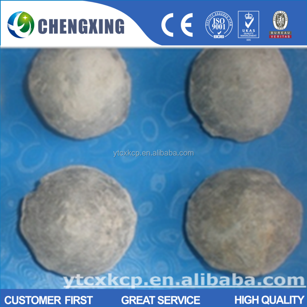 High quality and low price caf2 98% Fluorspar briquette