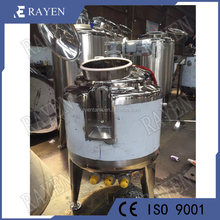 Sanitary stainless steel cooling agitation tank industrial chemical reactions