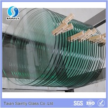 Best quality 3.2mm 4mm toughened downlight round glass