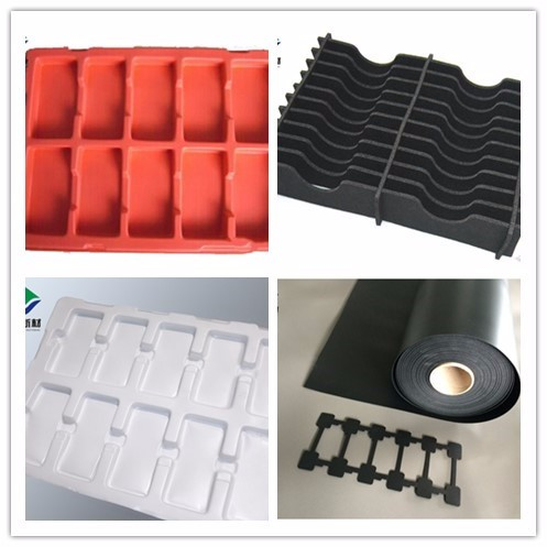 Anti-static PE foam for packaging for transfering parts of smart phone