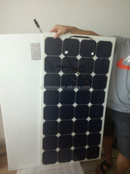 Hot sell low price light weight equipment for manufacturing solar panel for RV / Boats