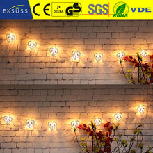 Unique Shape Christmas String Light outdoor christmas street light decoration