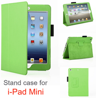 Danycase 2016 high quality leather case for ipad MINI 1/2/3,colorful and luxury design stand case,durable popular cover for ipad