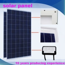 250w Polycrystalline solar panel for 100 kw solar panel system