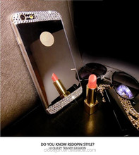 Diamond Encrusted Case for Samsung J5 2017, for Samsung Galaxy J5 2017 Electroplating Case