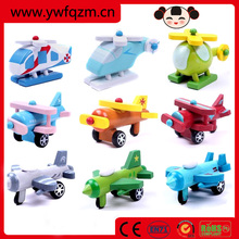New design fashionable mini wooden plane wholesale,small wooden model toy