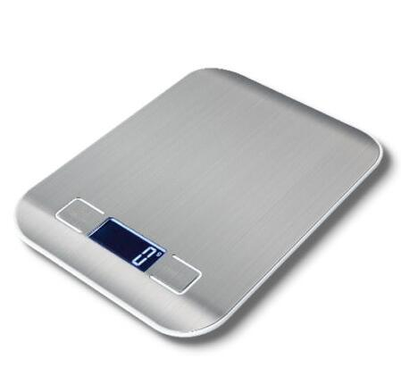 5kg electronic Stainless Steel Food Weighing Scale digital multifunction kitchen scale with Large Removal Bowl
