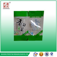 Shiitake mushroom sauce packaging bags&wide-used three side sealed tomato sauce high temperature packaging bag