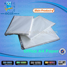 Superior value for A4 copier paper,top office paper A4 80g supply in China, with ISO9001&ISO14001