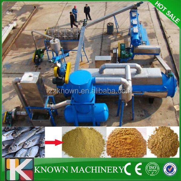 Professional process dry fish meal,salmon fish meal machine,tuna fish meal machine