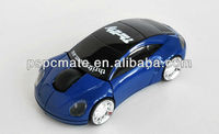 Car Shape USB 2.4G 1600dpi 3D Optical Wireless Mouse Mice