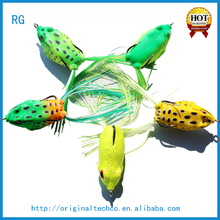 Decorative Deep Diving Sea Bass Fishing Lures,Wholesale 3D Blank Soft Plastic Jump Frog Jumping Fishing Lure Bait Lures Fishing