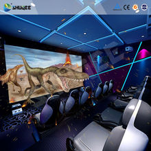 Customized 5D cinema film , 5D stereo moive films with animation