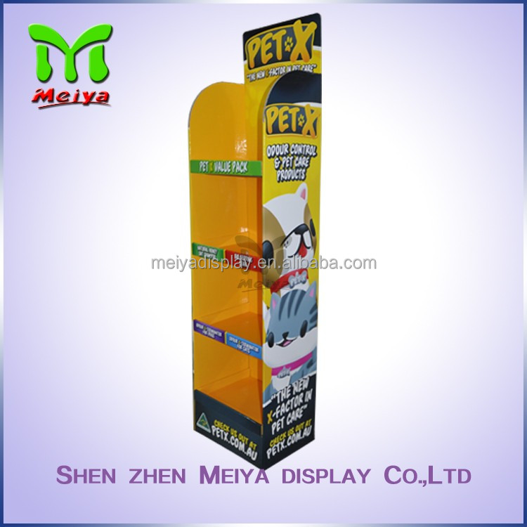 printed promotion trade show display cardboard display stand