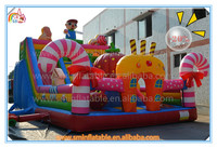 Hot selling funny inflatable bouncer with obstacle,inflatable obstacle course bouncer,inflatable combo with slide for kids