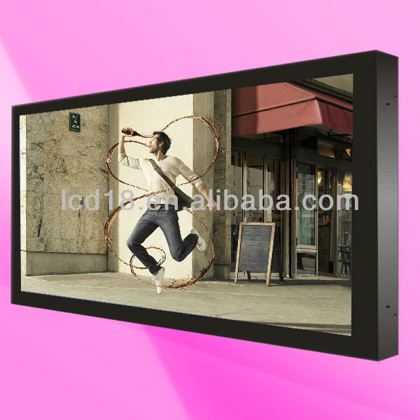 "46""digital photo frame vertical flat panel lcd monitor"