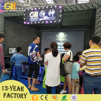Indoor and outdoor shoting game machine of Higih Quality