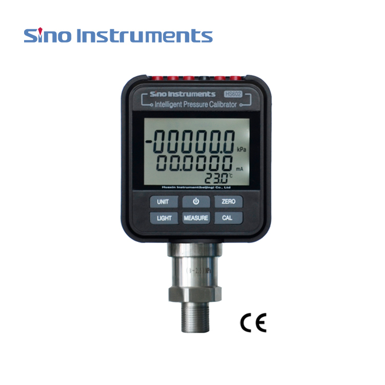 HS602 Hydraulic (Oil) Digital Pressure Gauge Data Storing and Free Download