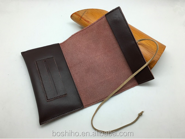 Customized design Wholesale Genuine Cowhide Leather Tobacco Pouch Cigarette Pouches