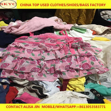 Guangzhou foreign trade summer wear children's second hand clothes, adults used clothing for women men used clothes Africa buyer