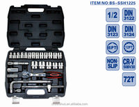 25pcs 1/2 Socket Kit Set Hand Tools