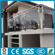ss304/ss316 stainless steel&glass railing/balustrade for balustrade/terrace/stairs