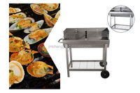 Wholesale outdoor ce listed easily cleaned commercial deluxe party charcoal barbecue grill