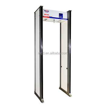 Hot Sale MCD-500C 18 Zones Large Screen LCD Walk Through Metal Detector MCD-500