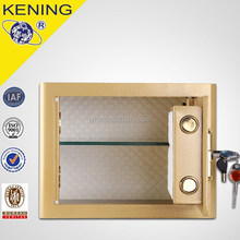 Factory directly supply commercial safe box / key lock hotel safe