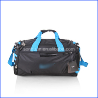 Hot selling multi-color waterproof oxford 600D polyester gym sport duffle bag