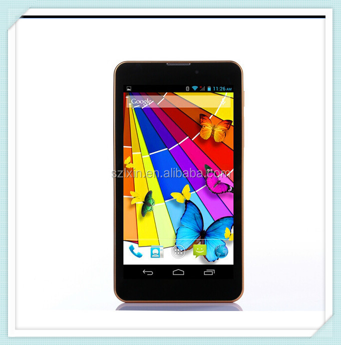 Support 3G phone call 6 inch android tablet pc sale