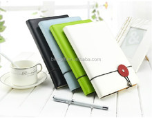 High quality pu leather diary cover