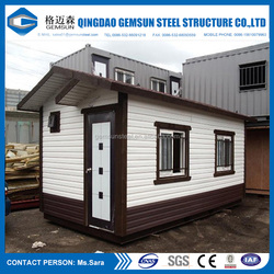 China Low Cost Flat Packed Cabin Log Plan Chinese Steel Container House Factory
