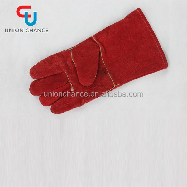 Factory Direct Wholesale Cheap Leather Work Gloves