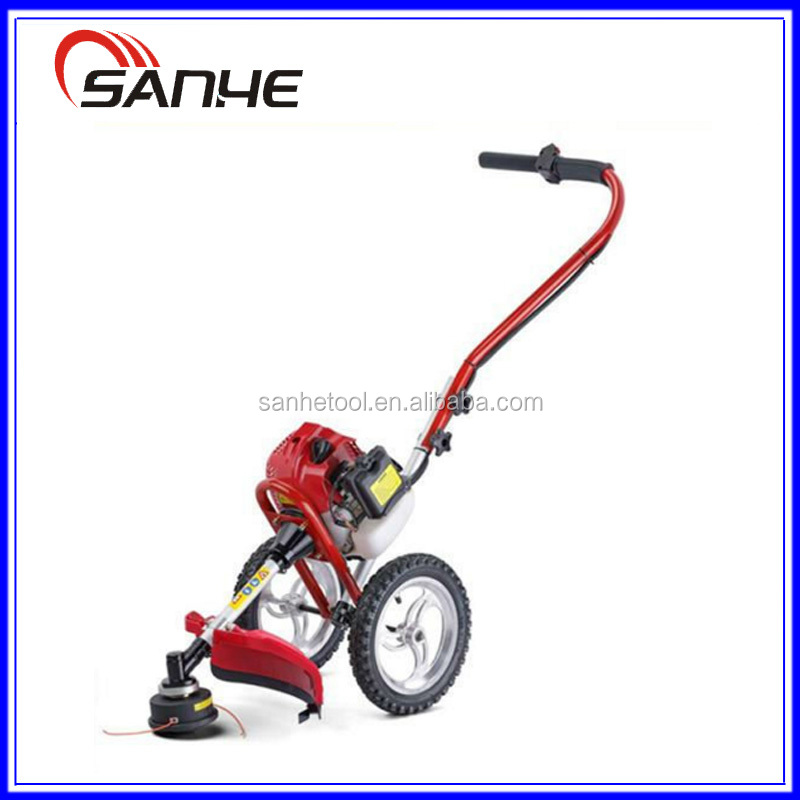 Hot sell 43cc hand push brush cutter / lawn mover