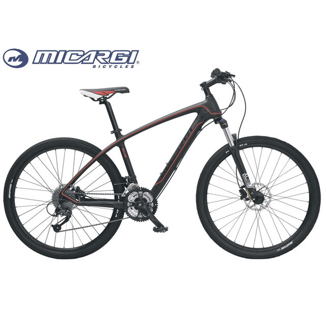 Micargi 27.5'' carbon fiber mountain bike SOLAR full suspension mtb 27 speed bicycle