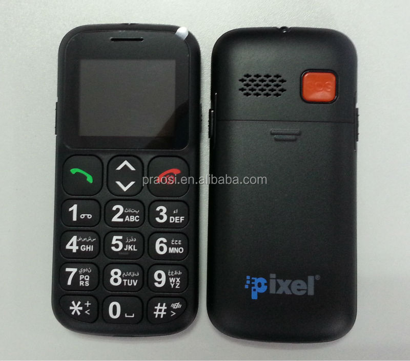 large keypad wcdma eldely mobile phone with arabic keybaord